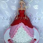 торт-кукла на год