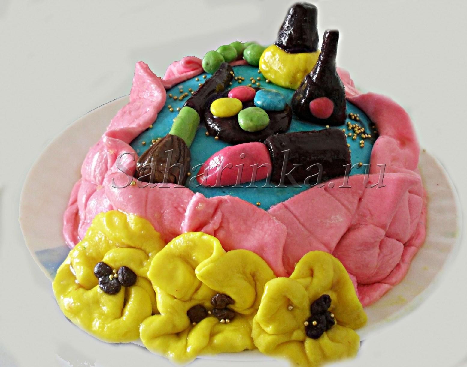 Торт рецепт без мастики