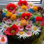 торты +с цветами фото