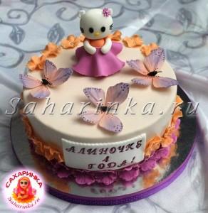 торт девочке 4 года