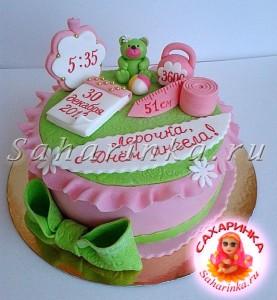 торт девочке на год фото