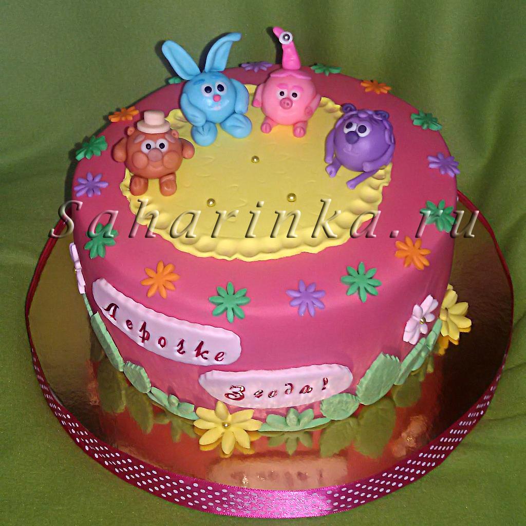 Торт для девочки на день рождения своими руками рецепт 185