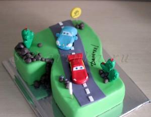 7 лет мальчику торт