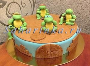 черепашки ниндзя торт