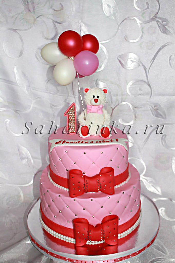 Торт с надписью на палочках фото 2