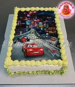 мальчику торт тачки