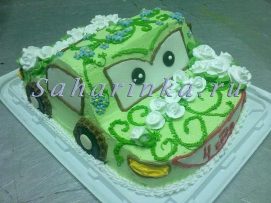 Купить торт с цветами из мастики на заказ с фото