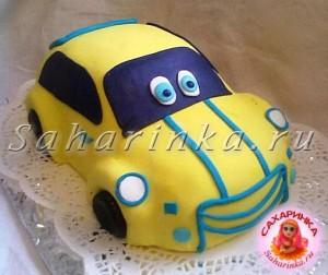 торт-машина мальчику