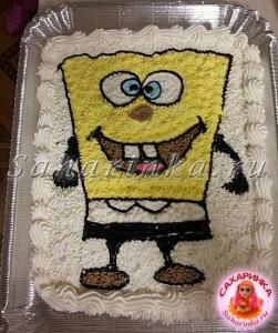 торт-спанчбоб