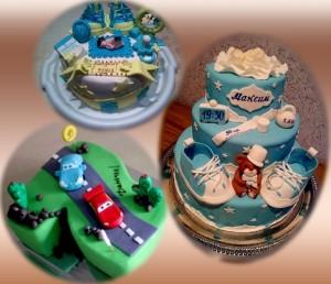 фото торты для мальчиков