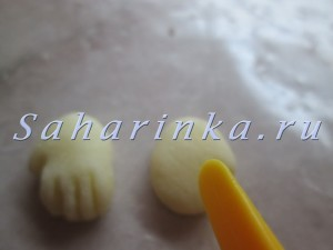 мини маус из мастики мк