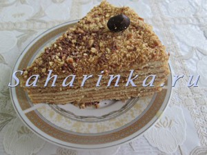 торт медовик мк