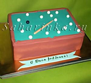 торт-бильярд
