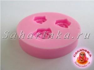 силиконовый молд - розы