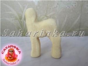 лошадь из мастики