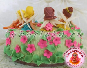 торт из мастики феи