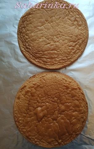 Торт в виде тройки, рецепт с фото